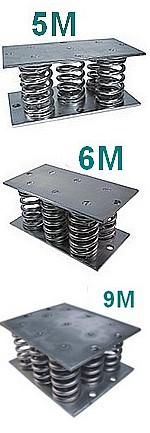 Série 5M-6M-9M - 2500 à 6750 kgs