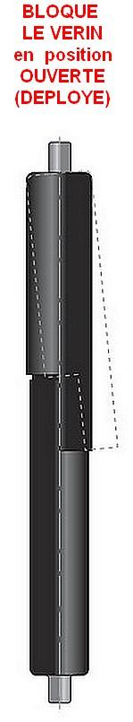 Tubes de BLOCAGE pour vérins avec tige de diamètre 8mm
