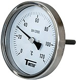 THERMOMETRE INOX mesure axiale -30°C à 200°C