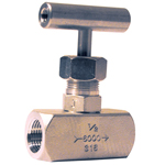 Vanne Pointeau VAPEUR - Inox 316 Femelle/Femelle 180°C