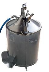 BOUILLEUR VAPEUR BOIS ACIER ou INOX - A raccorder  à un alambic