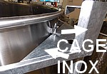 Cage de protection en acier INOX