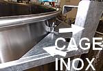 Cage de protection en acier INOX