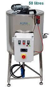 CUVE chauffage ELECTRIQUE 50 litres - double paroi eau + melangeur électrique