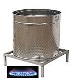 CUVES  INOX GAZ - 500 Litres