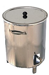 CUVEINOX + bruleur gaz INOX 120 à 500 litres