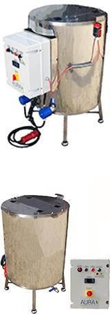 CUVE - chauffage ELECTRIQUE 100 à 800 Litres - double paroi eau - max 95°C