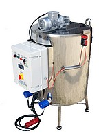 CUVE - chauffage ELECTRIQUE 100 à 800 Litres - double paroi eau + melangeur - Max 95°C