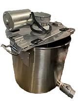 CUVE avec MELANGEUR INOX 304 - 15 à 150 litres