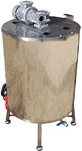 CUVE avec MELANGEUR INOX 304 - 100 à 800 litres