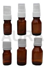 FLACONS en VERRE JAUNE 5ml ,10ml ou 15ml pour huiles essentielles