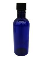 Flacons PET 100 ml - pour bouchon noir
