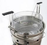 FRITEUSE gaz circulaire 15 à 34 litres