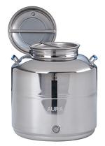 FUTS INOX 304 de stockage, de vente ou de présentation - 10 à 100 litres