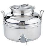 FUTS INOX 304 MIEL - 3 à 5 litres - pour transfert, stockage, vente ou  présentation - Qualité supérieure 18/10ème
