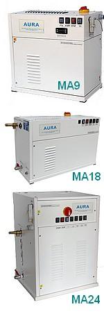 GENERATEURS VAPEUR ELECTRIQUES pour DISTILLATEURS 25 à 300 litres - Vapeur propre - Vapeur douce : Très basse pression