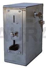 INOXTIMER 1 - monnayeur pour jeton - multi usages -  (lieux secs ou humides)