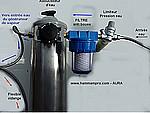 Kits QUIETUDE :  installation et raccordement du générateur de vapeur au réseau d'eau + vapeur + électrique