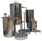 ALAMBIC DISTILLATEUR  multiplantes -  vapo-distillation