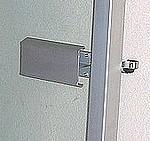 Poignée ALU porte basique - charnière