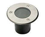KIT SPOTS ALF INOX  - A sceller - diamètre 100 mm - Blanc chaud 3000K