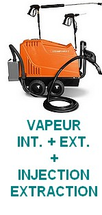 STEAM POWER PLUS - 5 - Nettoyage/désinfection Vapeur  + extraction VORTEX