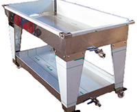 TABLE D'EGOUTTAGE - H 20 cm - avec bas inférieur