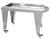 TABLE D'EGOUTTAGE avec ou sans pieds